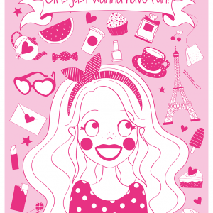 a4 poster roze anne sara
