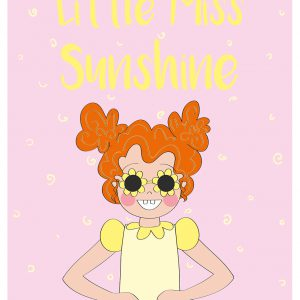 little miss sunshine rood haar annesara poster