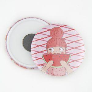 Watermeloen roze magneet anne sara