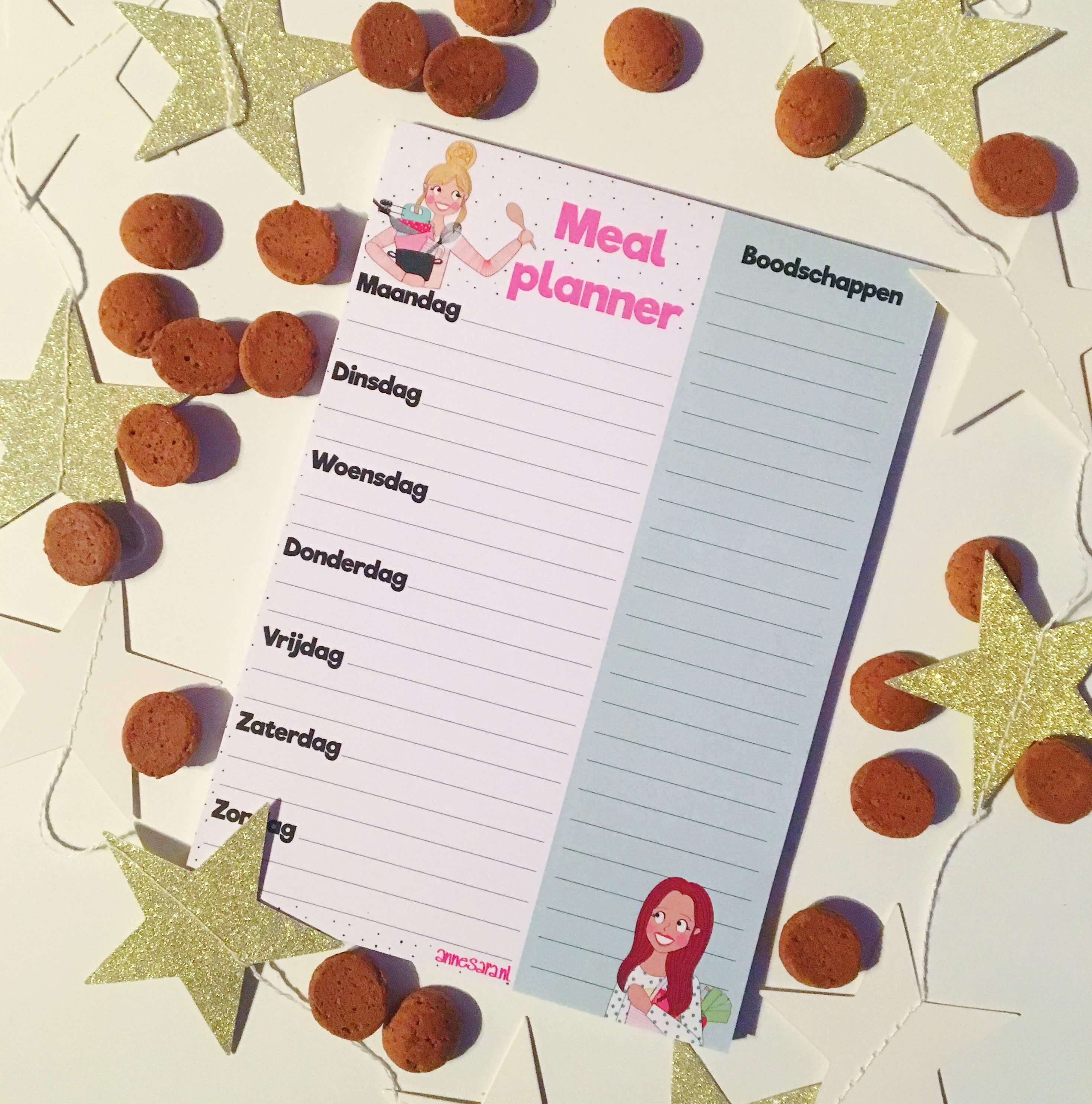 Adventkalender: Winactie Mealplanner