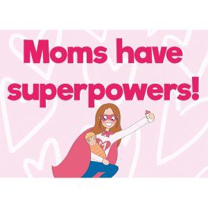 moms superpowers moederdag kaart annesara