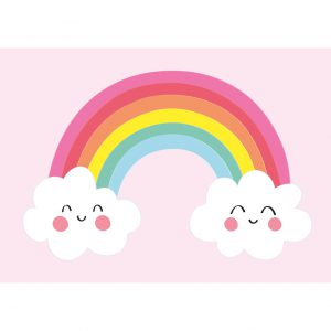 regenboog kaart annesara baby kinder