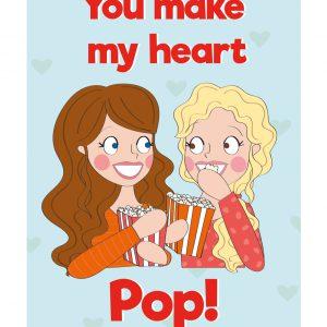 popcorn lieve kaart anne sara