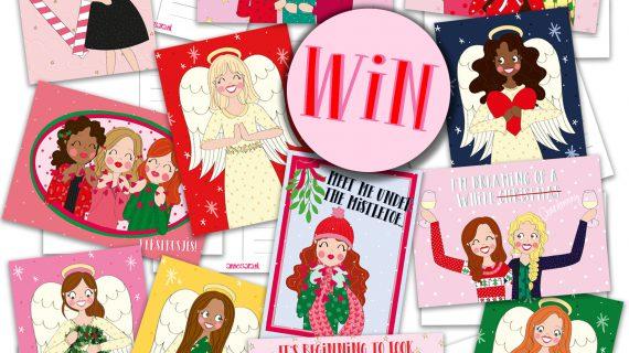 Win alle Kerstkaarten uit de Kerstcollectie!