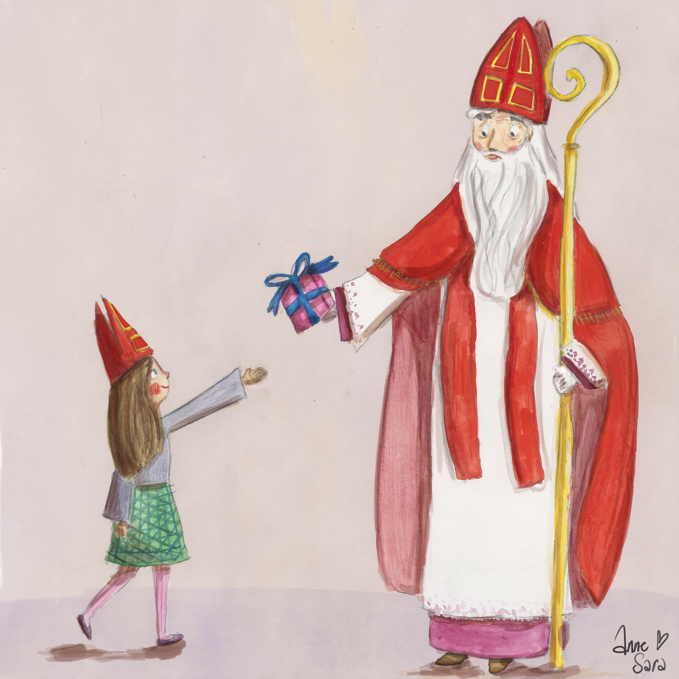 Sinterklaas illustration